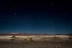 Sternenhimmel über dem Altiplano