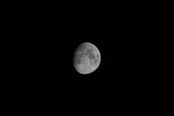 3/4 Mond