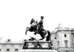 Der Reiter vor der Hofburg
