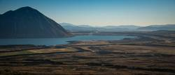 Der Berg und der See in NZ