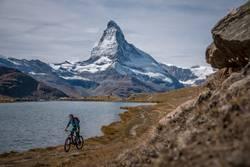 MTB vor dem Matterhorn