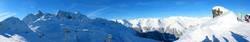 Bergpanorama Montafon