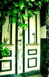 Wohin führt wohl diese Tür???