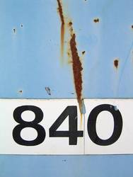 Die 840 und Rost...