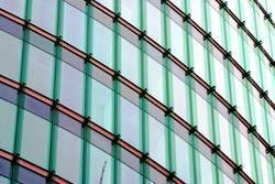 Fassade aus Glas