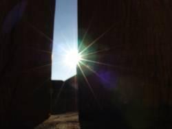 Sonnen-Skulptur