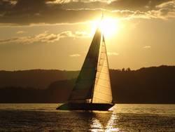 ...sooo schön kann segeln sein...