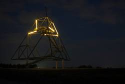 ... und abends mit Beleuchtung
