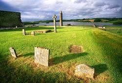 Friedhof auf Derwenish Island