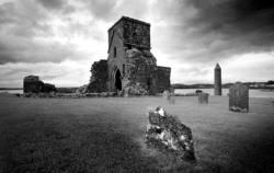 Klosterruine auf Derwenish Island S/W