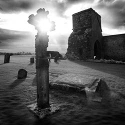 Kreuz auf Dervenish Island