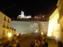 Ibiza, Burg in der Nähe des Hafens, Eivissa