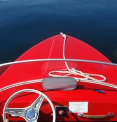 Ich hab ein knallrotes ...Boot...