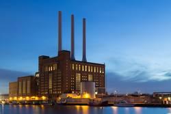 Svanemolle-Kraftwerk in Kopenhagen, Dänemark