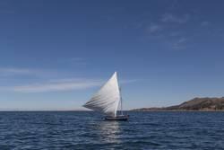 Shipboats auf dem Tititaca See, Peru
