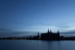 Schattenbild von Frederiksborg-Schloss, Dänemark
