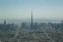 Dubai Skyline Luftaufnahme