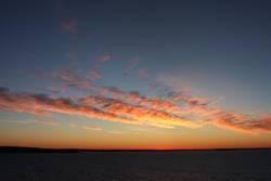 Sonnenaufgang über'm Skagerak