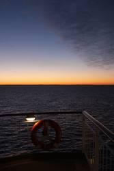 Sonnenaufgang über' Skagerak