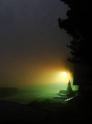 fetter Nebel