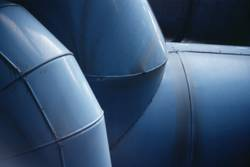 Abstraction bleu