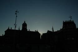 Getting Night in Amsterdam