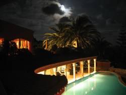 Hotel Vivenda Miranda bei Nacht