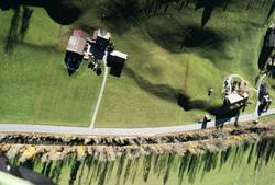 Landeplatz von oben