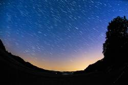 Nachthimmel im Emmental