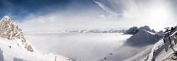 Nebelmeer von oben