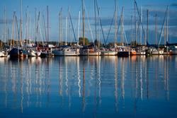 Segelboote an der Ostsee