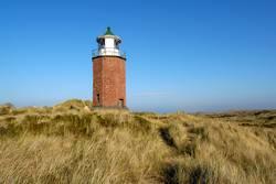Sylt, Kampen - Rotes Kliff, Alter Leuchtturm