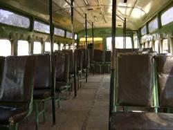 Indischer Bus im Ausnahmezustand