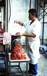 carnicero a la carne