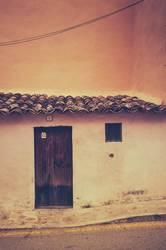 Tür, Fenster, Dach