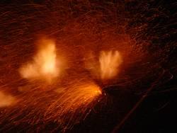 D-Böller Explosion