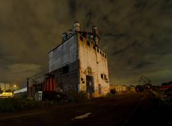 Industrial Ruin at Rheinauhafen