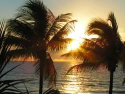 Sonnenaufgang an der Küste von Fort Lauderdale
