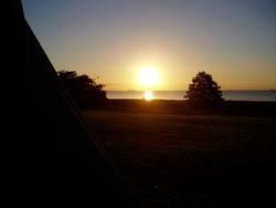 Sonnenaufgang in Koppenhagen