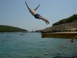 Segelflug mit Wasserlandung