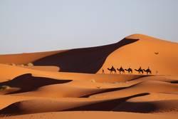 Tief in der Sahara...