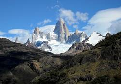 Luftschloss in den Anden