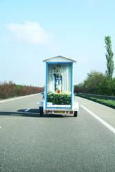 Madonna unterwegs