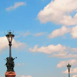 Himmel über Berlin I - Laternen