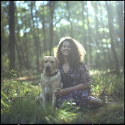 Mo und Flora im Wald