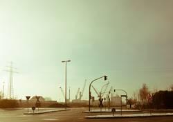 Hamburg Harbour Area