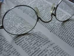 Brille im Wörterbuch