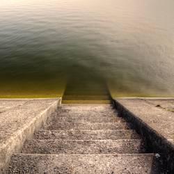 Treppe in die Tiefe