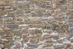Historic stone wall on the Alcazar in Tarifa