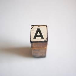 """Am Anfang ist das """"A"""""""